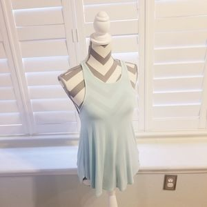 AEO Soft & Sexy Tank in Ice Blue